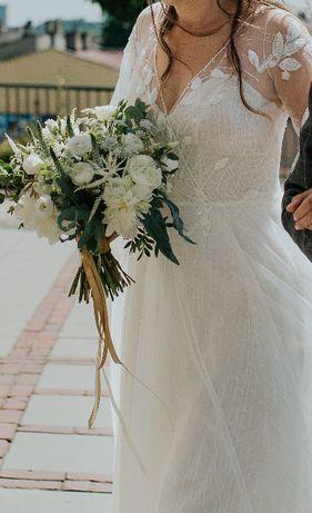 Suknia ślubna 2020 przepiękna i zwiewna