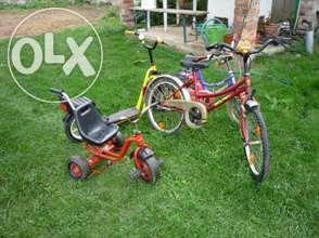 Bicicleta e trotinete