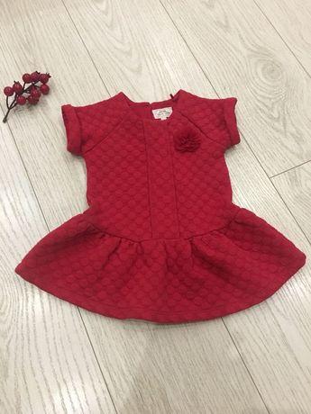Платье Next тёплое и нарядное
