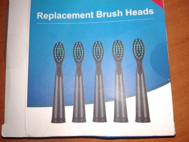 Запасные насадки для зубной щетки Seago SG-949, 551, 507. 5 штук