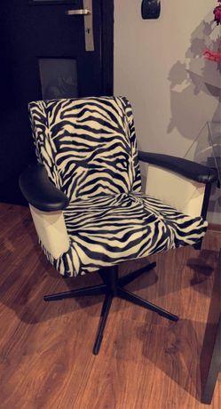 Komplet foteli obrotowych PRL