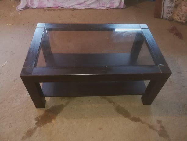 Stolik kawowy ława stół szkło
