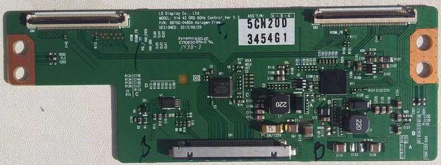 Продам t-con 6870C-0480A  от LG 42LB582V-ZG