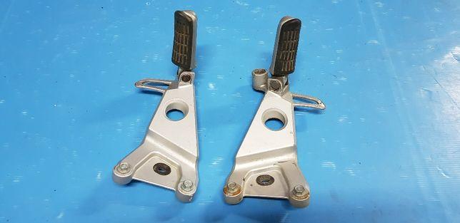 Honda NSR 125 jc22 suportes pousa-pés traseiros
