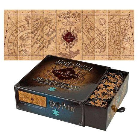 Пазл головоломка для взрослых - Гарри Поттер Карта Мародеров 90х33 см