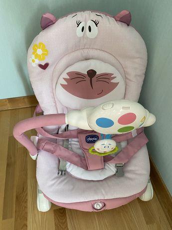 Крісло-гойдалка для немовлят chicco balloon