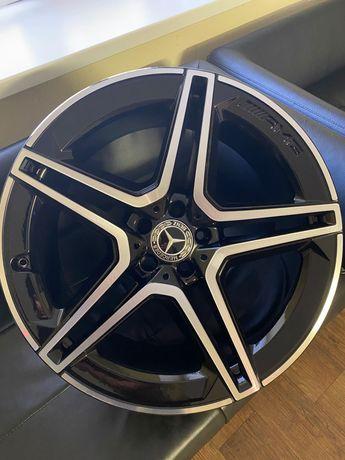 Оригинальные разноширокие диски Mercedes GLS AMG R21 X167 W167