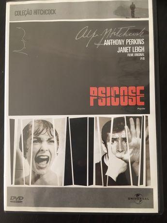 DVD Psicose de Alfred Hitchcock