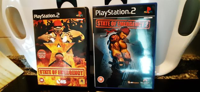 Pack State of Emergency playstation 2