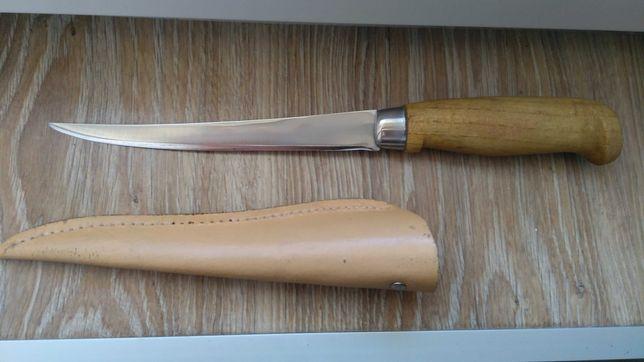 Nowy nóż wędkarski, do filetowania, ręczna robota