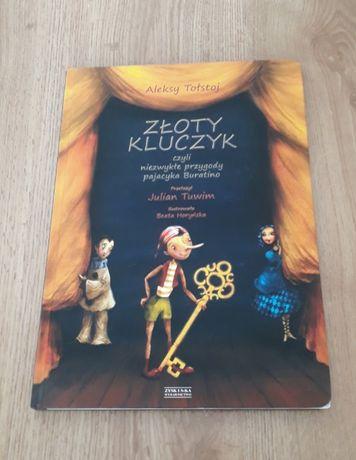 Książka dla dzieci Złoty kluczyk Aleksy Tołstoj