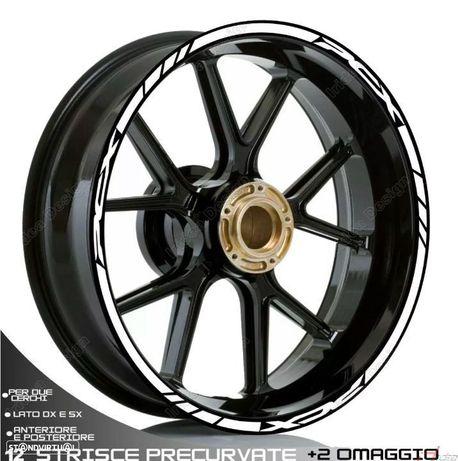 fitas para Jantes pcx 125  autocolante para as 2 rodas