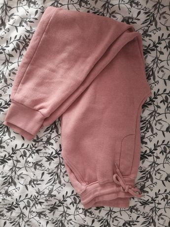 Różowe spodnie dresowe Boohoo S.