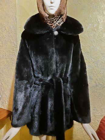 #108 Норковая шуба Black NaFa номерная