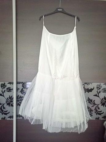 Halka pod suknię ślubną lub wizytową duży rozmiar XXL