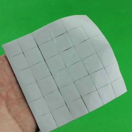 термопрокладка для чипов 15х15х1мм 42штуки 3.2w/mK