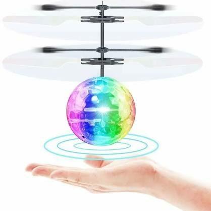 Літаючий вертоліт, шар, фея літаюча, куля, Летающий светящийся шар