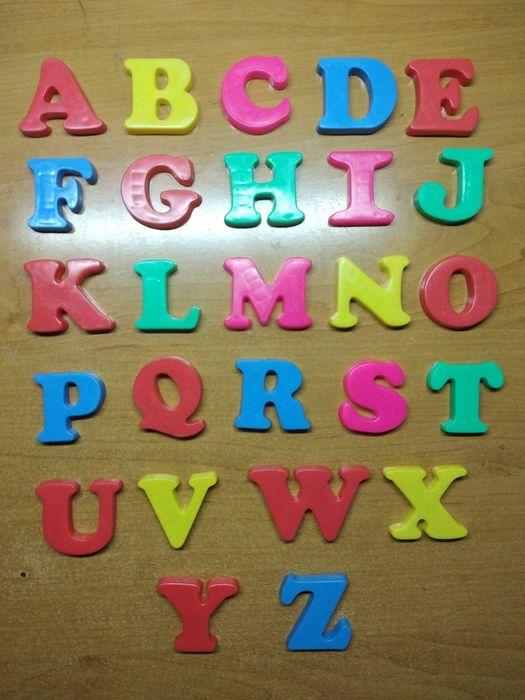 """Англійський алфавіт"" магніти, буквы на магнитах,  азбука Черкассы - изображение 1"