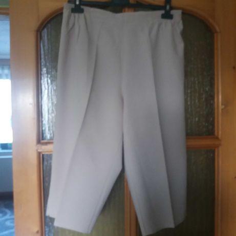 Spodnie damskie 3/4 w rozmiarze XXL