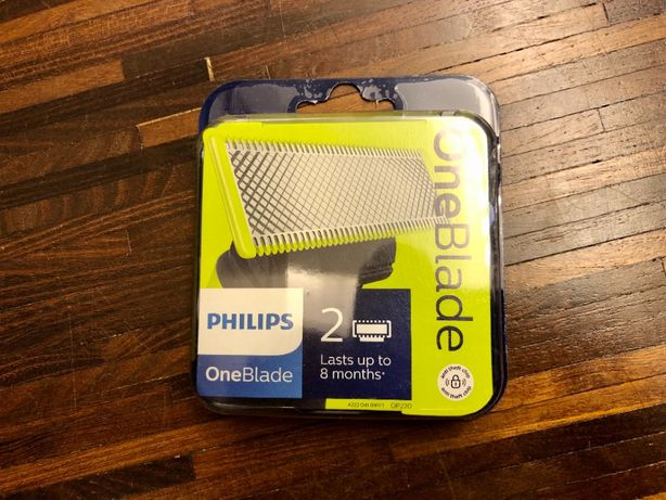 Podwoje opakowanie Philips OneBlade QP220 2x ostrza QP2530 QP2520 ORYG