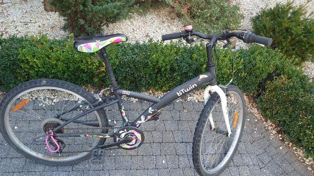 "Rower dla dziecka Btwin 24"" stan bdb"