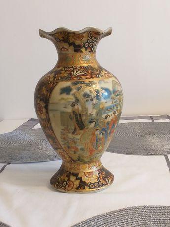 Orientalny Wazon Porcelanowy z Azji (Japonia)