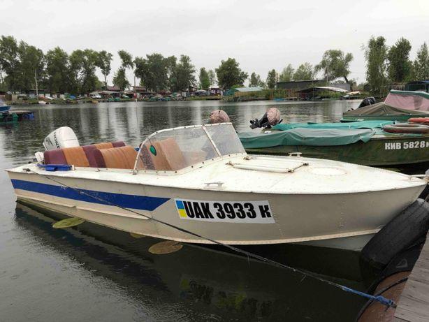 Лодка Прогресс 2 с двигателем Honda 30