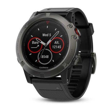 SmartWatch Garmin Fenix 5S Preto Como Novo S/ Marcas de Uso, 1 Mes USO