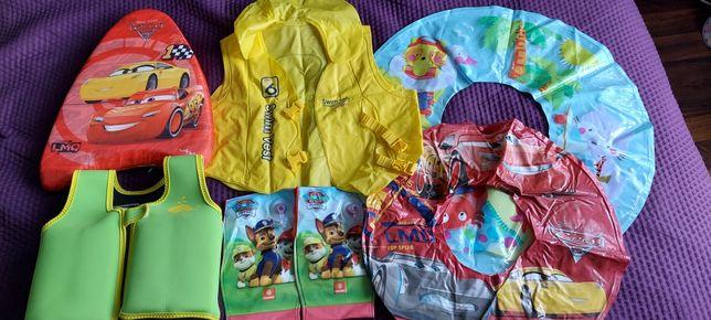 Zestaw do pływania dla dziecka 2-6 lat kamizelka