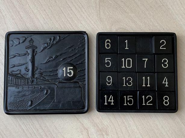 Игра 15 - Пятнашки ЛХППС ПЛАСТМАСС ЛЕНИНГРАД (СССР / клеймо)