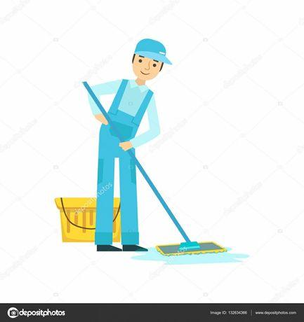 Bons serviços de limpeza em geral