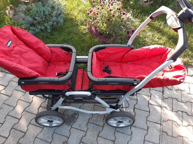 Wózek dla bliźniaków