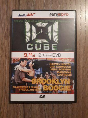 """Dwupak filmowy """"Cube"""" i """"Brooklyn Boogie"""""""