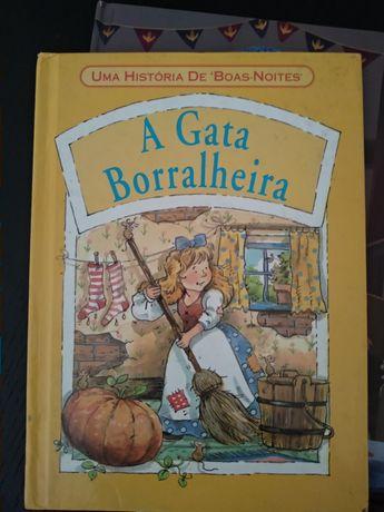 Livro  Gata Borralheira