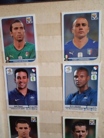 Карточки с футболистами
