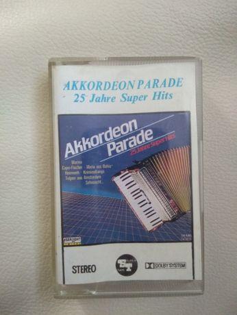 Akordeon paradę kaseta stan idealny TANIO wyprzedaż kolekcji