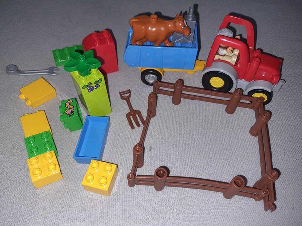 Lego duplo traktorek 10524, bdb
