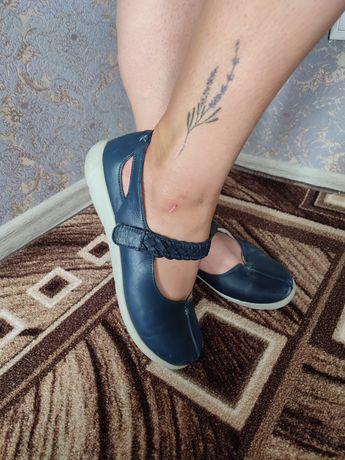 Балетки туфлі лодочки большой размер