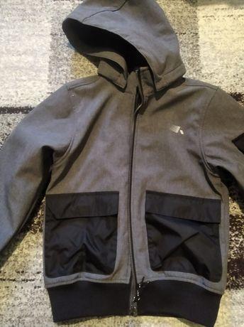 Куртка  бомбер на мальчика  soft shell