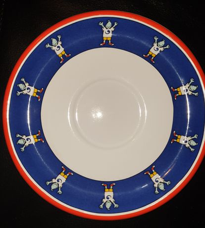 Prato de porcelana Expo 98 Gil 20 cm de diâmetro