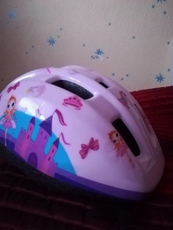 Kask rowerowy dla dziewczynki 54-58