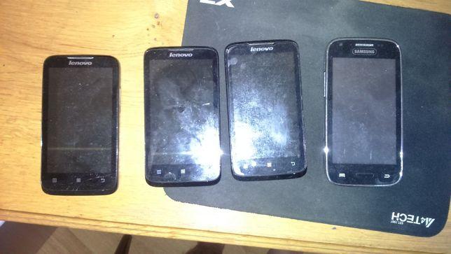 Продам 4 смартфона на запчасти