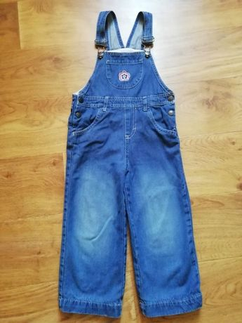 Джинсовый комбинезон джинсы на девочку 92-98 см