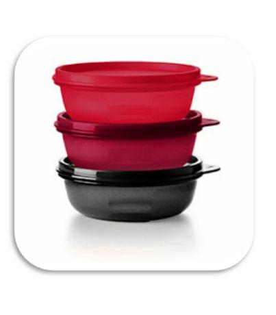 Swieża trójka miseczki 3*300 ml Tupperware