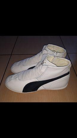 Высокие спортивные кожаные кроссовки ботинки Puma оригинал 36 размер