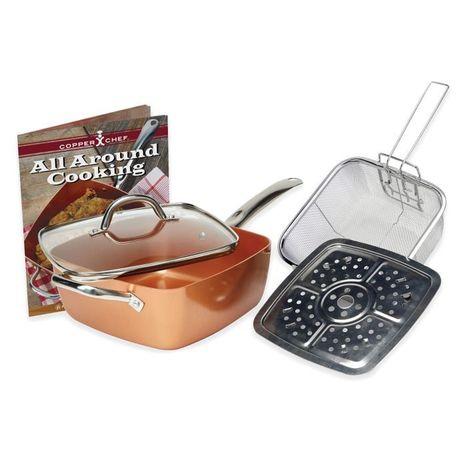 Сковорода рисоварка пароварка суповая кастрюля противень и фритюрница