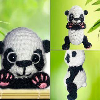 Панда. Ручной работы