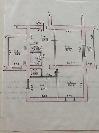 Продам або обміняю 3-х кімнатну квартиру