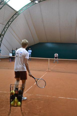 Lekcje tenisa ziemnego w Warszawie z instruktorem - 60 zł za godzinę