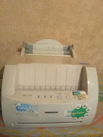 Принтер ч/б ML-1210 Samsung